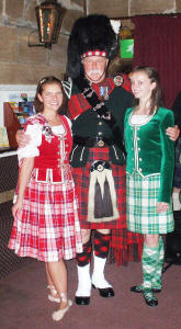 jim with the highland dancers